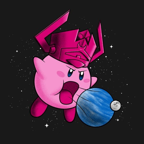 kirby galactus end of the world devour - 8393979392
