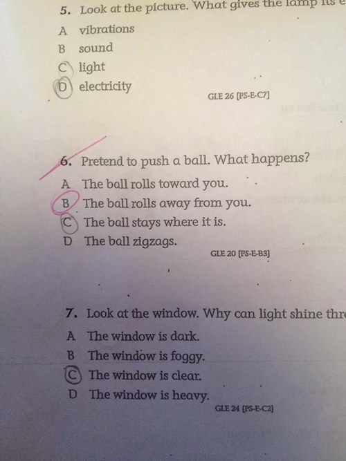 wtf teachers pretend test idiots - 8393987584