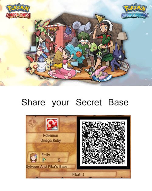 Share Your Secret Base!