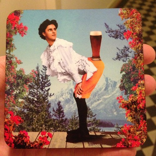 beer booty coasters funny - 8394060032