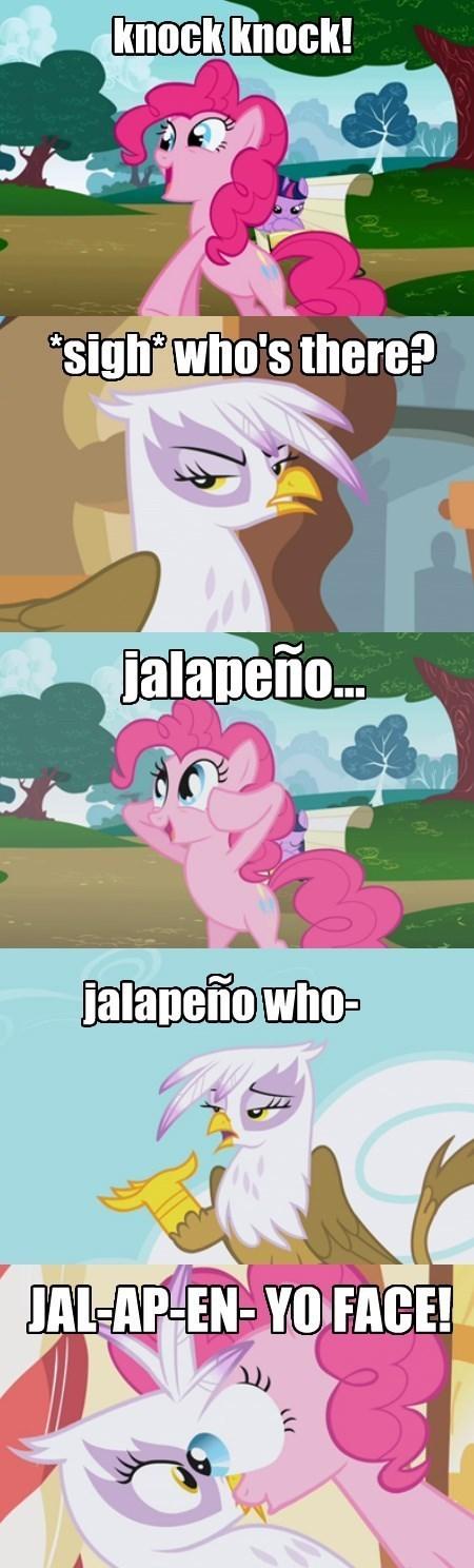 Jalapeño puns pinkie pie MLP - 8394096384