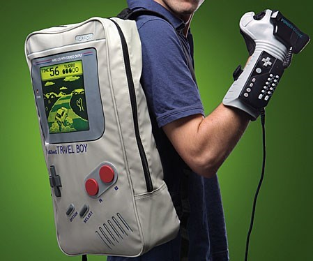 for sale i love the glove power glove gameboy backpack - 8394098176