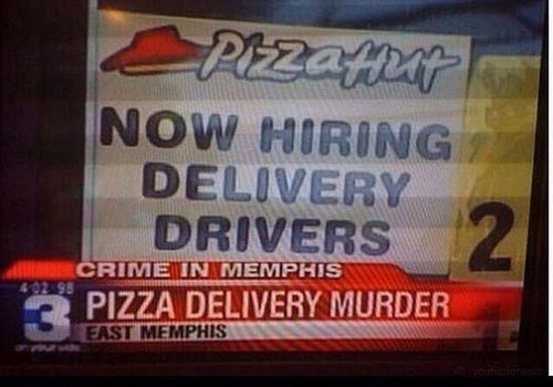 news,pizza,too soon,Probably bad News