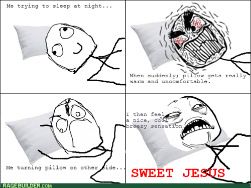 Pillow,sweet jesus,sleeping