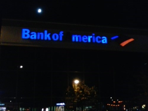 sign bank of america murica funny - 8394264064