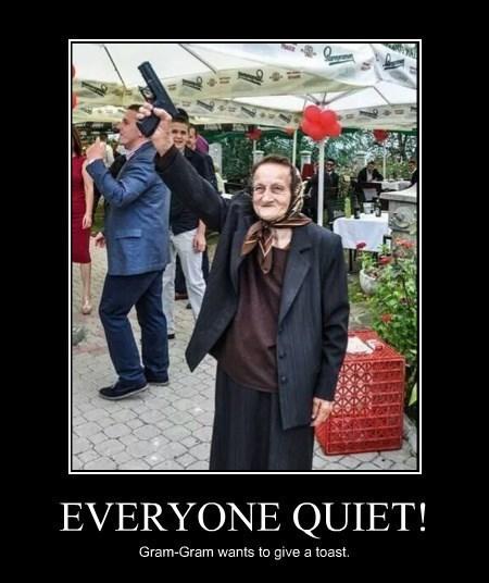 guns wtf grandma toast funny - 8394348800