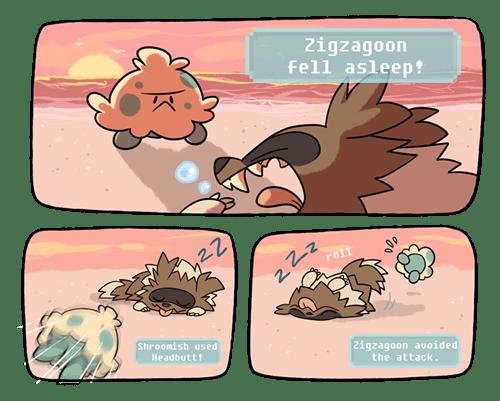 shroomish Pokémon zigzagoon - 8394769920