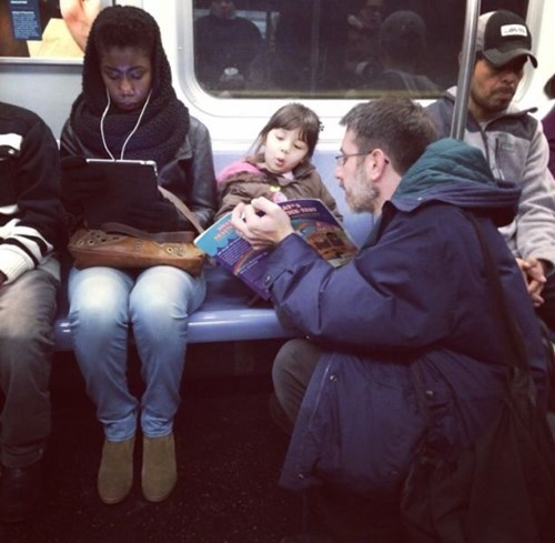 reading,kids,parenting,books,Subway