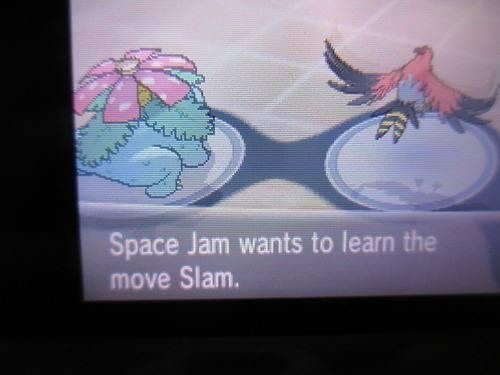 Pokémon,space jam,come on and slam