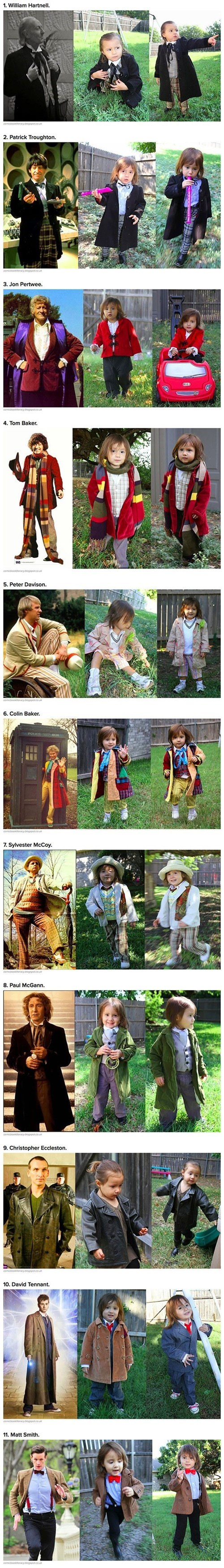 cosplay kids the doctor Whovian - 8394899456