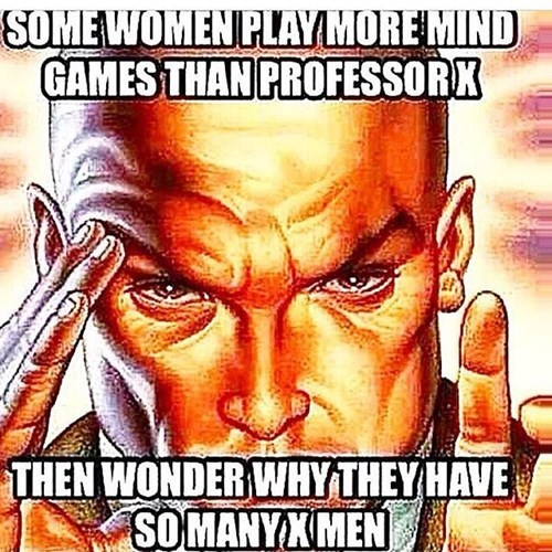 mind games x men professor x funny - 8394904064