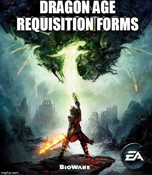requisitions gaming video games dragon age inquisition - 8394904832