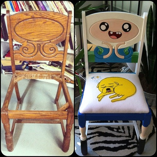 finn and jake,chair,restoration,antique