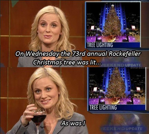 christmas drunk Amy Poehler funny - 8394996480