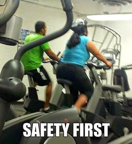 gym,helmet,safety first,bike,fail nation,g rated