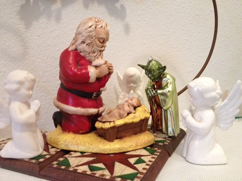 christmas star wars Nativity yoda g rated win - 8395033600