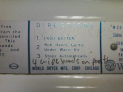 Bathroom Graffiti bathroom hacked irl - 8395036416