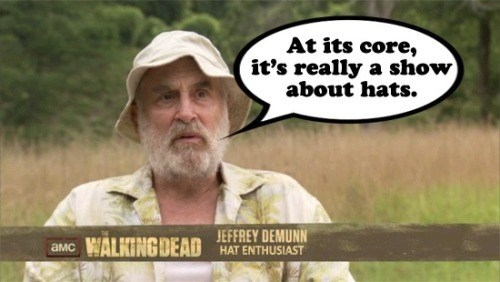Dale Horvath,hats,The Walking Dead