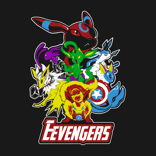 tshirts eevee puns The Avengers for sale - 8395547648