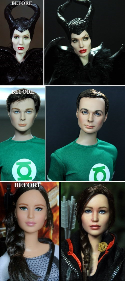 Artist Brings The Worst Dolls To Life