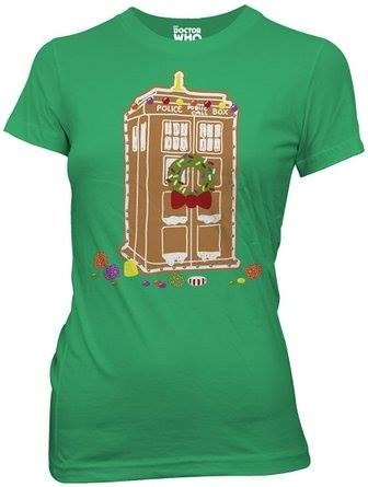 tshirts,tardis,for sale,gingerbread