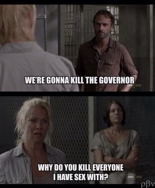 andrea,sexy times,the governor