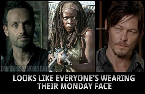 grumpy mondays the worst The Walking Dead - 8395703040