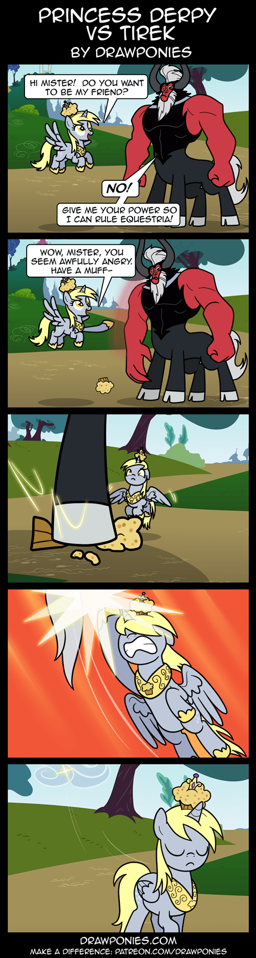 comics,derpy hooves,tirek