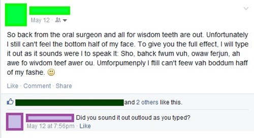 dentist teeth surgery failbook