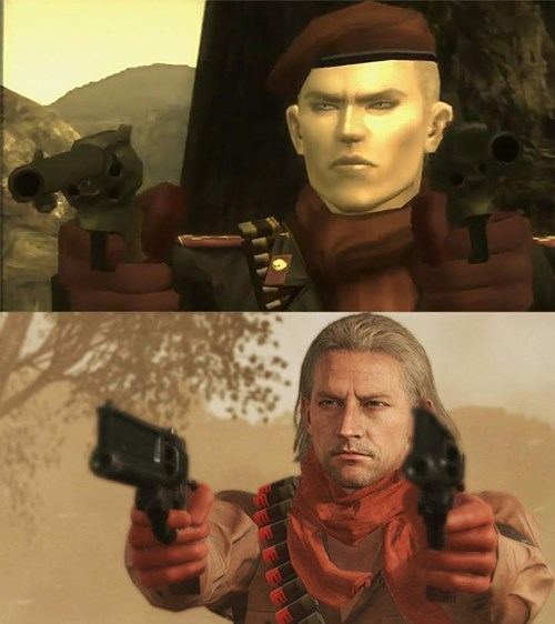 metal gear solid,metal gear solid online,revolver ocelot