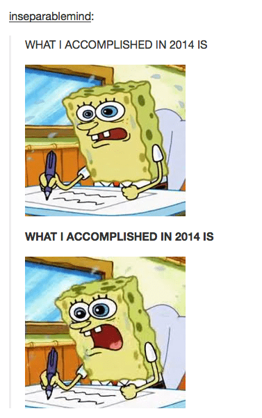 end of the year,2014,SpongeBob SquarePants
