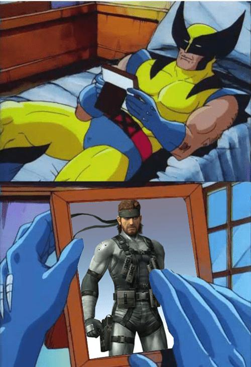 Memes,solid snake,wolverine
