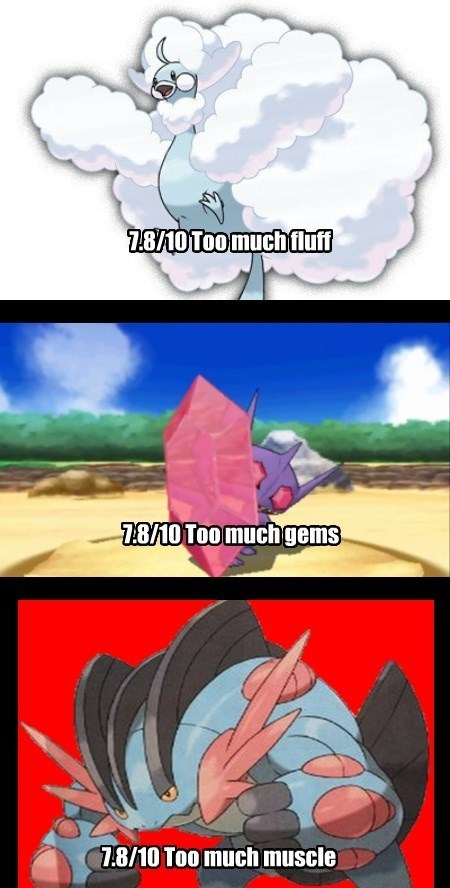 ORAS too much water IGN mega evolution