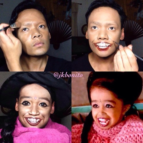 makeup transformation american horror story instagram