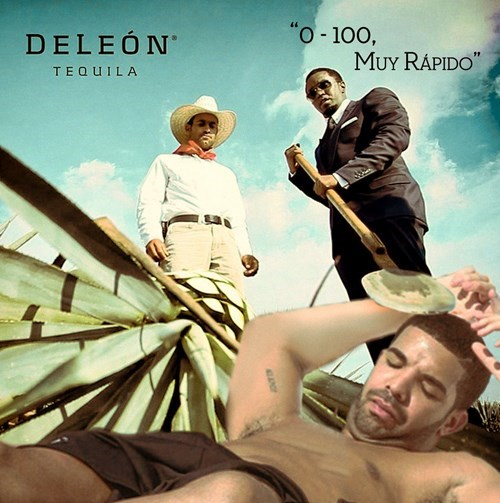 wtf P Diddy Drake tequila ads funny - 8396902144