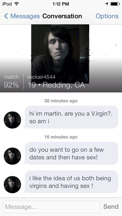 liar,sexy times,online dating,virginity,funny