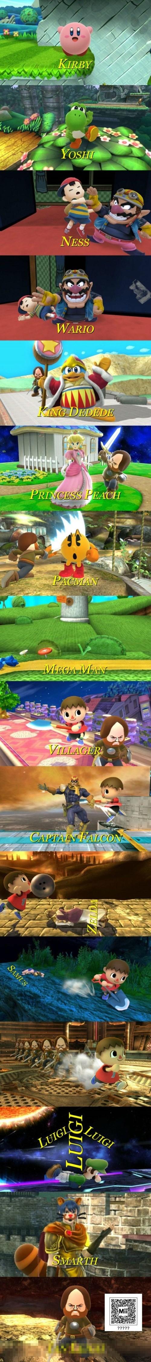 miis super smash bros video games - 8396984832