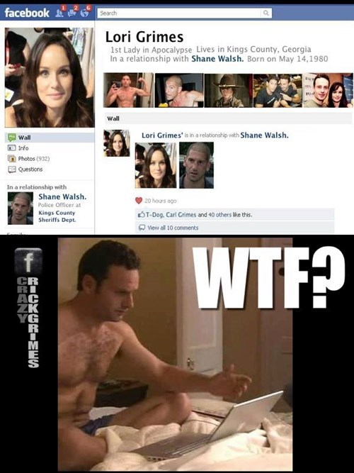 Rick Grimes relationship status its complicated lori grimes - 8396991744
