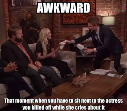 robert kirkman awkward moments beth greene The Walking Dead - 8396998144