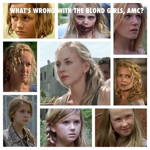 blondes,pattern,amc,The Walking Dead