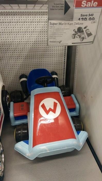 wario Super Mario Kart IRL mario - 8397012992
