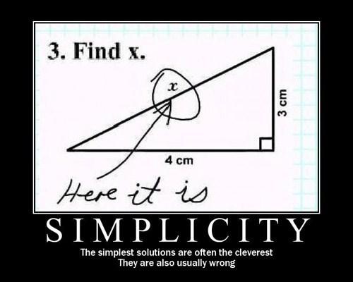 simple idiots math funny - 8397060864