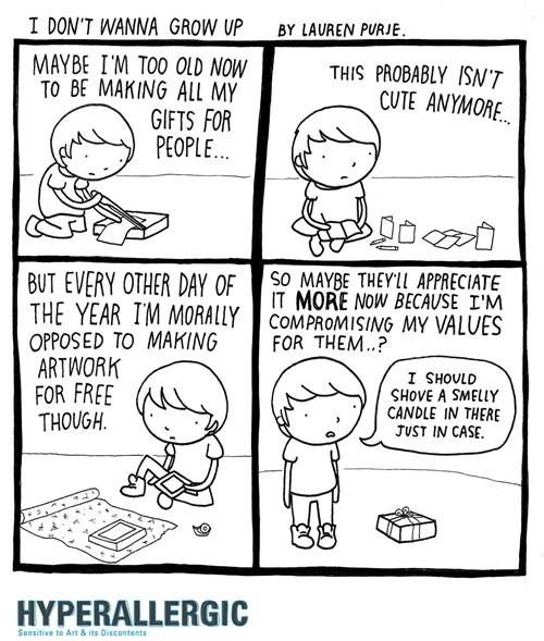 christmas gifts art web comics - 8397120256