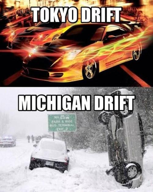 tokyo drift,michigan drift,cars,driving