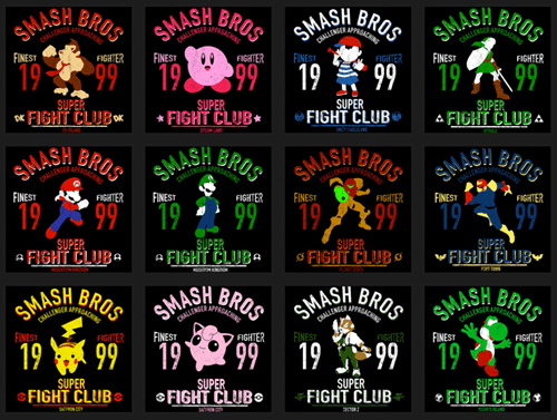 super smash bros fight club - 8397163264