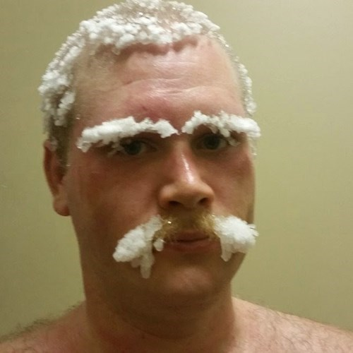 mustache,winter,frozen