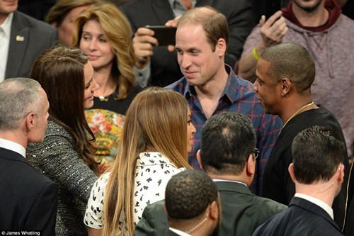 royal family,nba,meeting,beyoncé,photo of the day,basketball,Jay Z