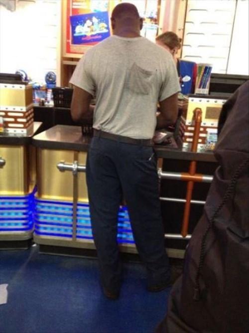 pocket poorly dressed backwards t shirts - 8397661952