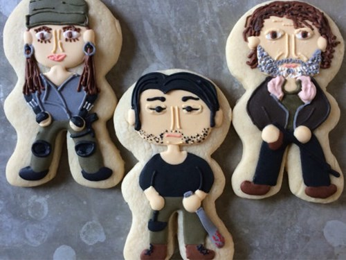 etsy noms The Walking Dead cookies - 8397681920