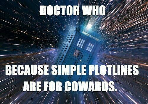 plotline wibbly wobbly timey wimey tardis doctor who - 8397727232